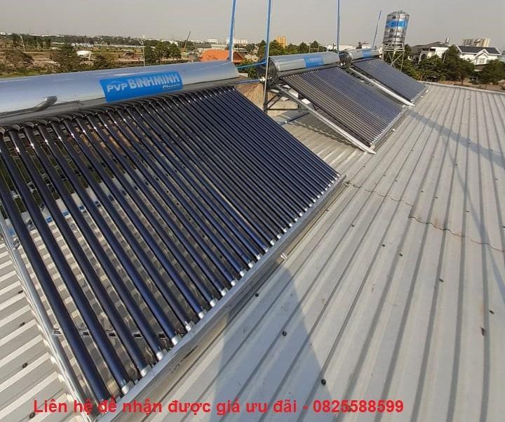 Giá máy nước nóng năng lượng mặt trời Bình Minh