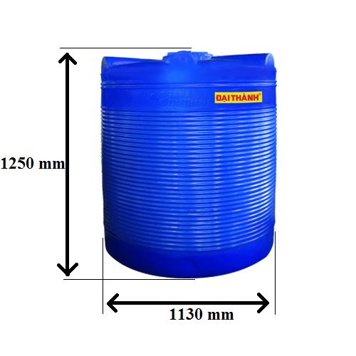 Bồn nước nhựa 1000 lít Đứng Đại Thành