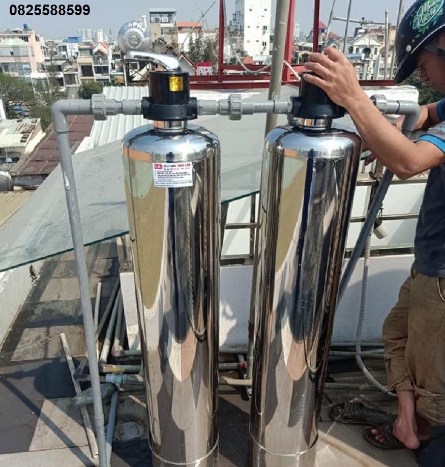 Hệ thống lọc nước đầu nguồn Bình Dương