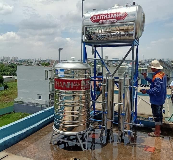 Sử lý lọc nước đầu nguồn tại Bình Dương